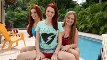 Mercedes Lynn in 'Big Tit Redheads'