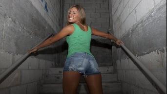 Nikki in 'Roof-Top Cock!'