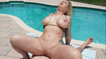Ryan Conner - Ryan Conner Gets a Creampie by The Pool