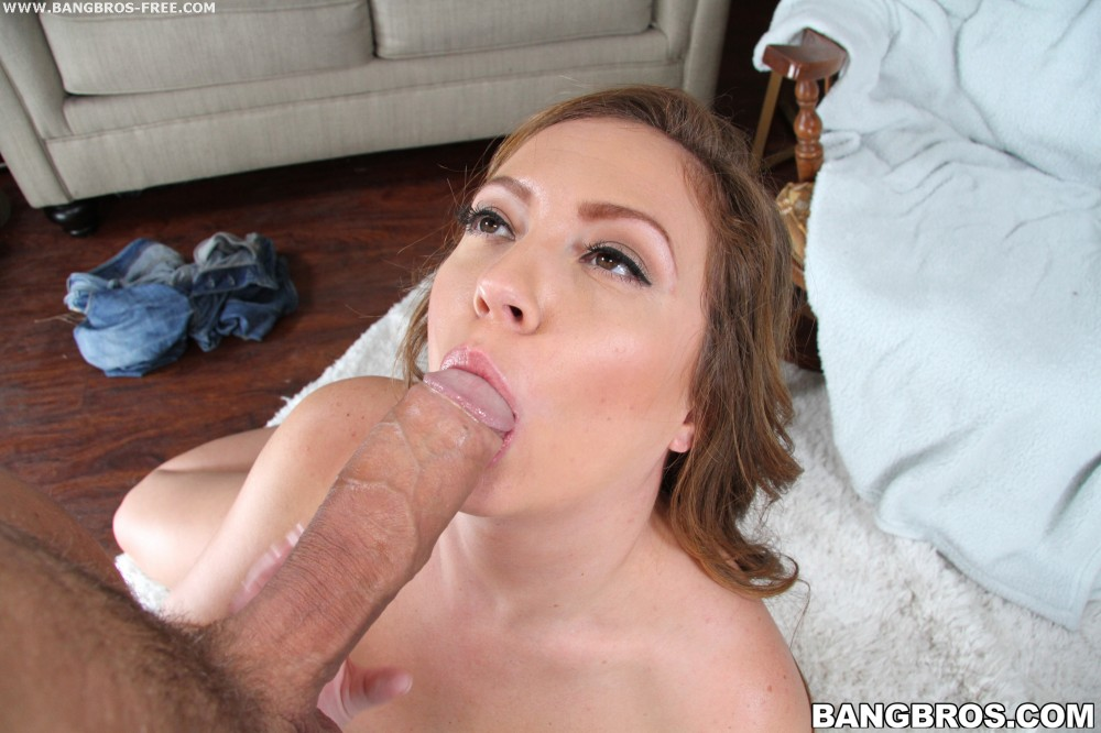 Bangbros 'Brooke gets her mouth filled' starring Savannah (photo 144)