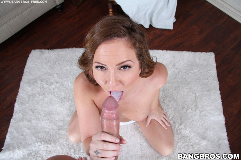 Bangbros 'Brooke gets her mouth filled' starring Savannah (photo 243)
