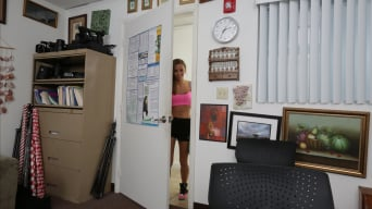 Shortie Breeze in 'Rowdy Threesome At The Office'