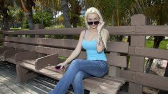 Stevie Shae in 'Hello... Blondie Boom!'