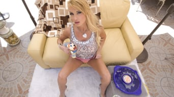 Taylor Wane in 'Cum Bubbles'