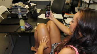Teanna Trump in 'Ebony Babe gets pounded at the Office'
