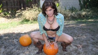 Tory Lane in 'Pumpkin Patch Fucking'