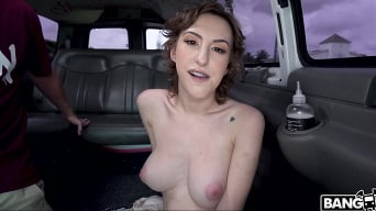 Tristan Summers in 'Shy Girl Fucks On The Bus'