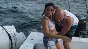 Vanessa Sky in 'Cuban Hottie Gets Rescued at Sea'