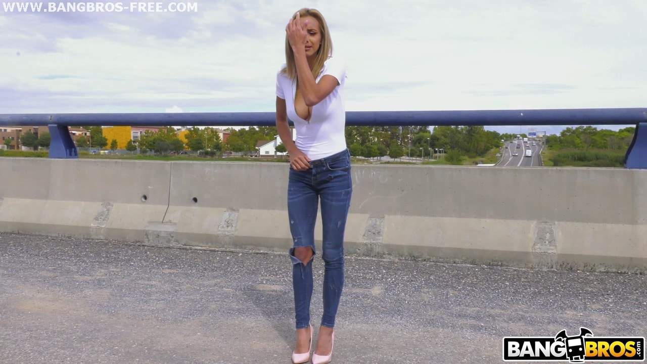 Bangbros 'Fucking Veronica's Ass On A Highway Bridge' starring Veronica Leal (Photo 96)