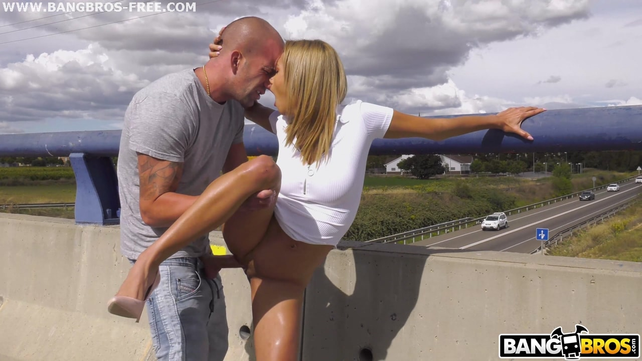 Bangbros 'Fucking Veronica's Ass On A Highway Bridge' starring Veronica Leal (Photo 216)